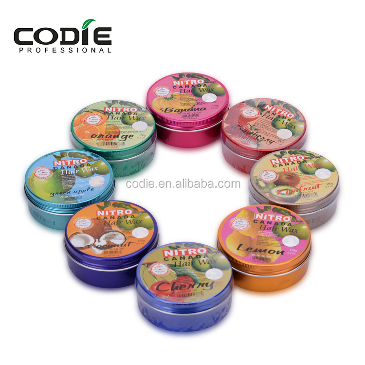 2016 popular nitro canada brand high quality fruit hair wax