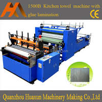 Automatic paper cutting machine toilet paper & lamination kitchen towel manufacturing machine