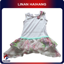 Summer hot selling plus size child dress