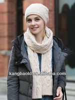 2016 New fashion shawls and scarves white knitted scarf hand make knitted scarf