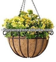 Stainless Steel Cone Shape Flower Hanging Baskets Buy