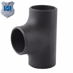 ASTM A234 WPB ANSI B 16.9 DIN 2606 N-5 ST.37.0 SMLS SCH 40 80 XXS REDUCING pipe tee bracket bend bash Black Painting