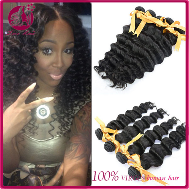 Wholesale Virgin Brazilian Loose Deep Wave Human Hair Weave 100% Unprocessed Cheap Remy Hair Weft