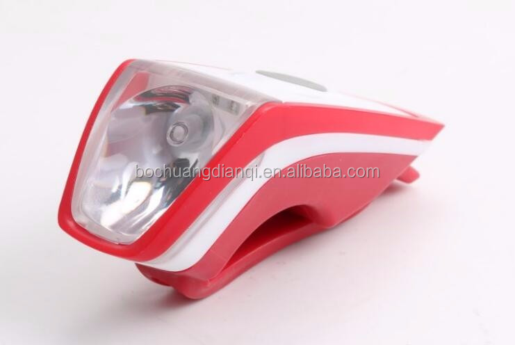 New design LED USB rechargeable bicycle light 3 modes front head bike light safety warning lamp fit for all cycling