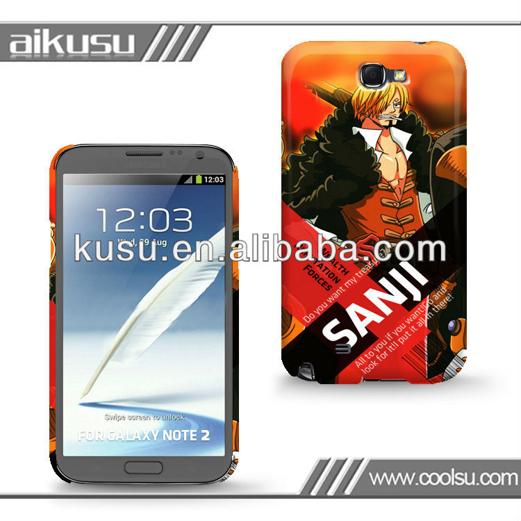 cheapest ! custom phone case for galaxy note 2
