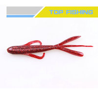 Factory supplier newest fine quality worm bait soft fishing lures from manufacturer