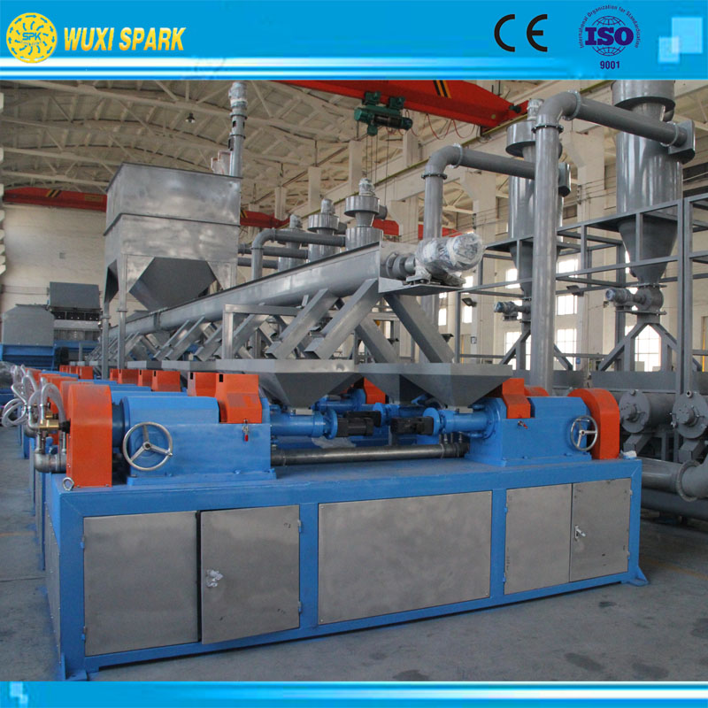 Waste Tire Recycling Machine/Used Tire Grinder Machine/Rubber Powder Grinding Machine
