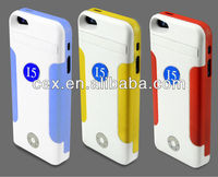Anti-theft 3500mAh Backup Rechargeable Battery Case For iPhone 5