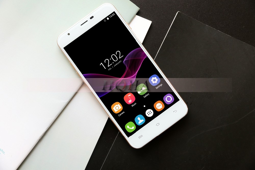 "Original Oukitel U7 Max Android 6.0 MTK6580A Quad Core Mobile Phone 5.5"" 1280*720 HD Cellphone 1G RAM 8G ROM 2500mAh Smartphone"