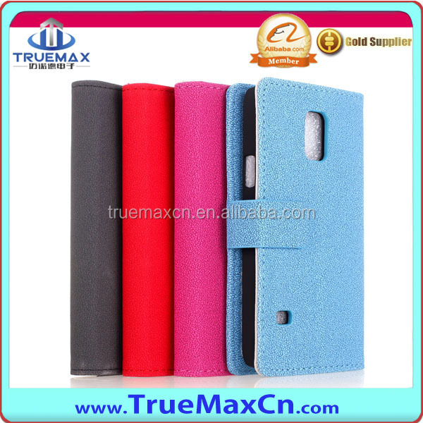 PU Leather Case for Samsung S5 mini, for S5 mini Leather Case with New Desigh