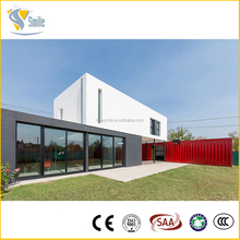 ISO certification wood prefab beach house made in china