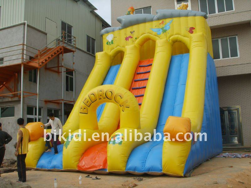 Giant water slides inflatable sales B4053