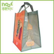 Online non woven tote bags/High quality silkscreen printed recycled non woven tote bag