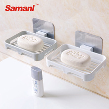 Cheap Plastic Self Adhesive Soap Holder For Bathroom Plastic Soap Dish