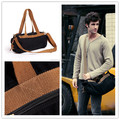 2016 Retro Vintage Durable Canvas Fabric Casual Practical Folding Travel Knapsacks Bag for Men