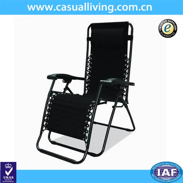 Comfortable cheape recliner chair/Beach chair/oversized outdoor chairs-black
