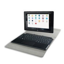 Mini Laptop 10.1 inch Intel Atom Z8350 with Detachable Keyboard 2in1 notebook China OEM Laptop Notebook With Dual OS