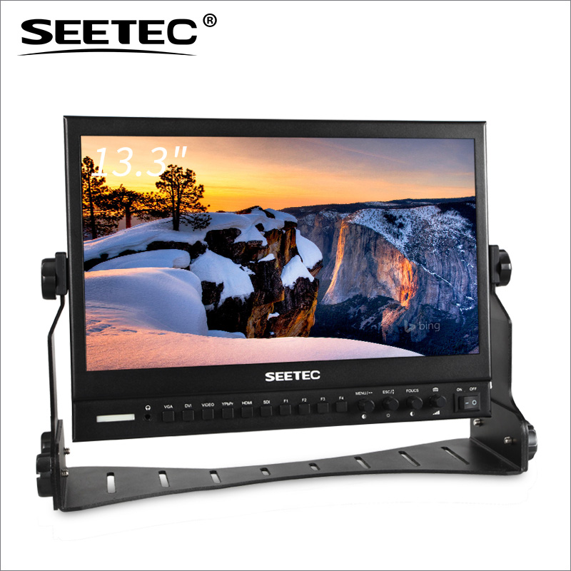 SEETEC broadcast full hd monitor IPS 1920*1080 3G-SDI <strong>13</strong> lcd