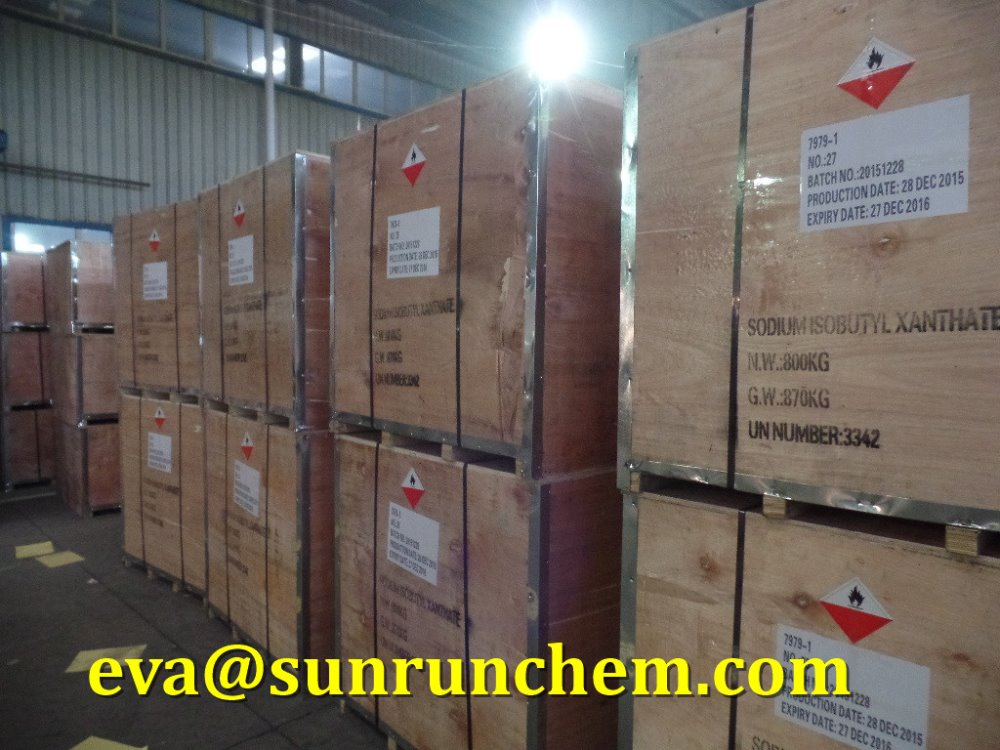 Sodium Isopropyl Xanthate(SIPX) 90%pellet flotation chemical