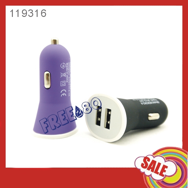hot sale universal cheap 2 ports usb car charger/dual usb car charger