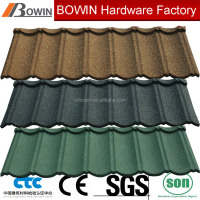 New color steel clay roof tiles /stone coated roof tile for roofing /stone coated roof tile price