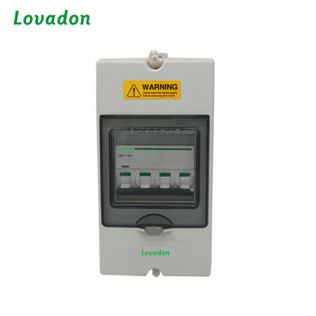 IP65 Din Rail Type Electrical Waterproof Power Distribution Box