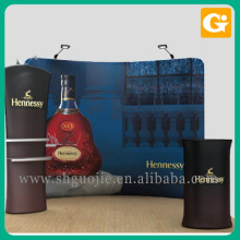 Cheap curved tension fabric display for trade show
