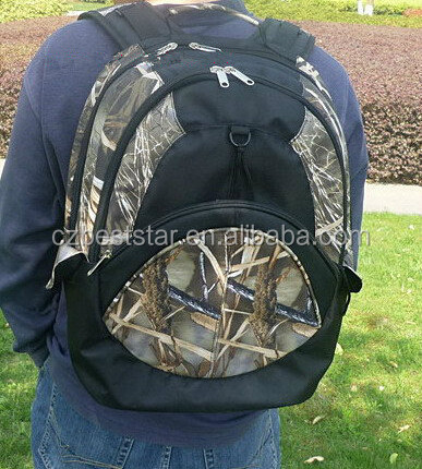 Camo&black hunting bag for travel