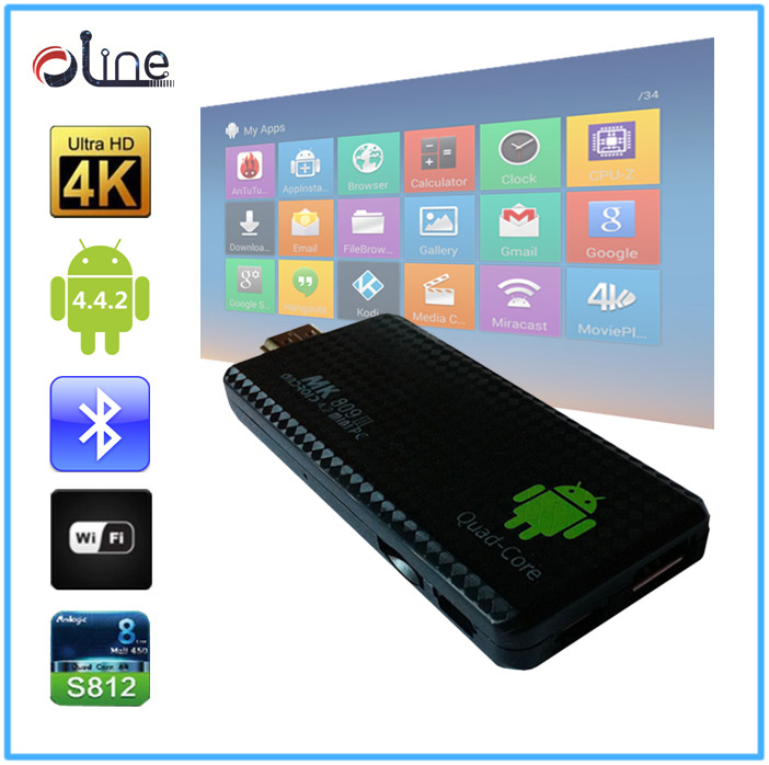 Newest Model Android 4.2.2 Quad Core RK3188 CPU android tv box av cable mk809iii Android tv box
