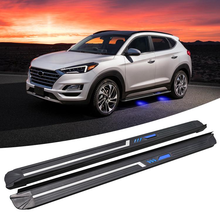 Balancement En Alliage D\u0027aluminium Usine Utilisé Pour Hyundai Tucson 2016  2017 2018 2019 Marchepieds 4x4 Accessoires , Buy Paliers Latéraux Tucson, Tucson