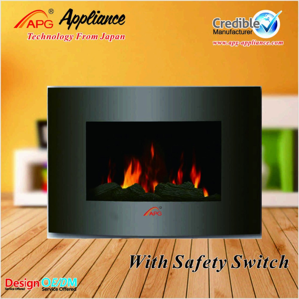 LED decor fake flame electric fireplace,wall fireplace