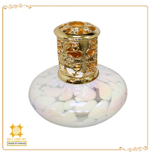 White small size unique lovely design gifts or pleasant decorations scented lamp oil