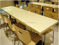 custom granite faux marble top table stone top dining tables, acrylic solid surface table and chairs,coffe shop table and chair