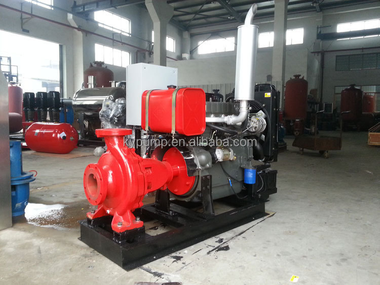 KYBC Diesel Generator Driven Trolley Pump