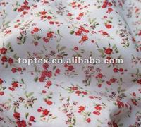 100% cotton flower's printed bedding set fabric