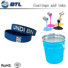 Silicone printing resin for printing ink making