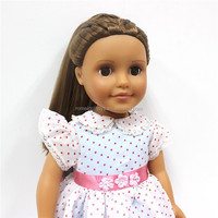 Factory Customized Fashion Doll Vinyl Doll Toy 18 inch Half Soft Body