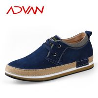 European business casual shoes sneakers suede leather shoes for men