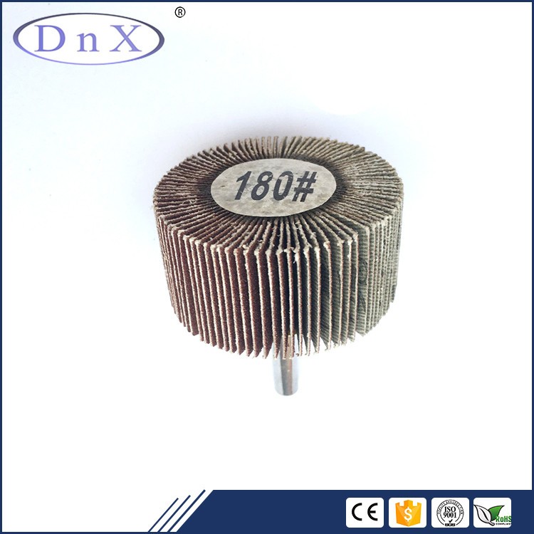 30mm x 25mm x 6mm Grit 120 Flap Wheel Discs For Polishing