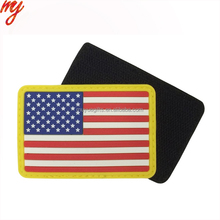 custom soft pvc clothing rubber badge silicone patch