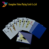100% royal plastic playing poker cards YH1679