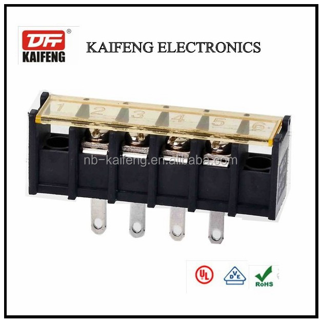 barrier terminal block KF-30HM with cover with rated voltage 300V for auto terminal and connector
