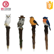 Polyresin 3d Animal Resin Pen Custom polyresin souvenir ballpoint pen