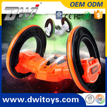 DWI606 RC Stunt Track Car Toy Stunt Rolling Car LED Wheel Lights Best Gift for Children