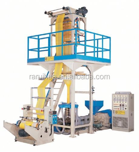 film blowing and gravure presses printing machine production line/pe gravure printing and film blowing machine