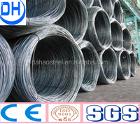 SAE 1008 7mm steel ms wire rod in China tangshan