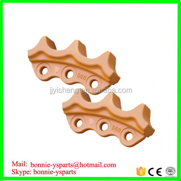 factory price bulldozer sprocket for D50 roller chain dozer sprocket
