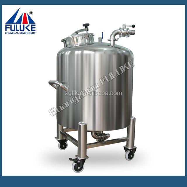 liquid chemical storage tank /cosmetics cream storage tank/food storage tank