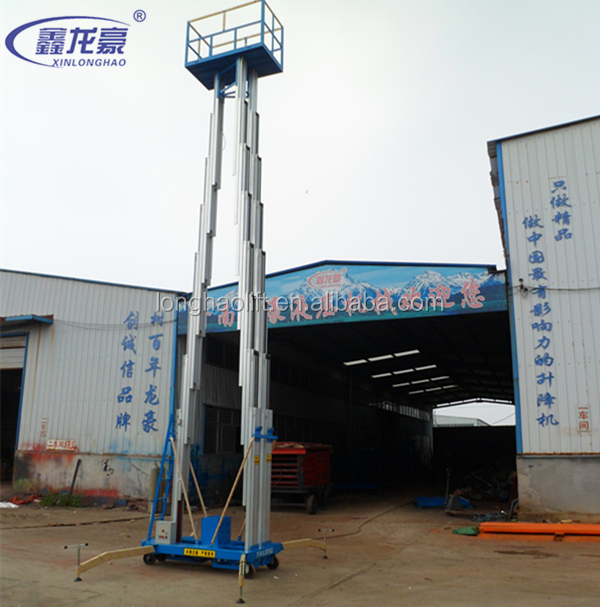 New model hydraulic lifting platform aluminum alloy ladder lift tables for sale