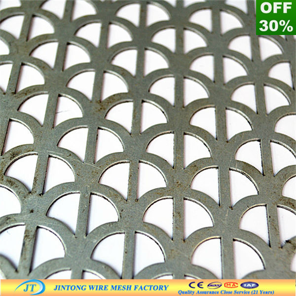 Manufacturer Exporter Stainless Steel 316L Perforated Sheet Metal